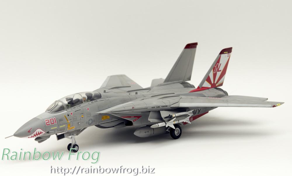 ハセガワ F-14Aトムキャット サンダウナーズ
