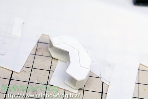 スジ彫りテンプレート