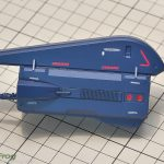 MG 1/100 百式2.0が一応完成して、メガ・バズーカ・ランチャー制作中