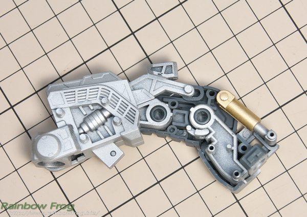 MG シャア専用 ゲルググ Ver.2.0 脚フレーム完成