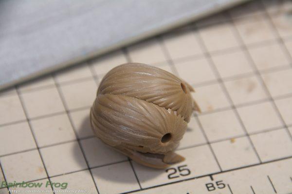 フレームアームズ・ガール フレズヴェルク=インバート 髪造形