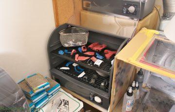 コアファイター洗浄と乾燥