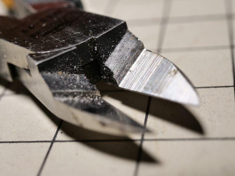 片刃のニッパー