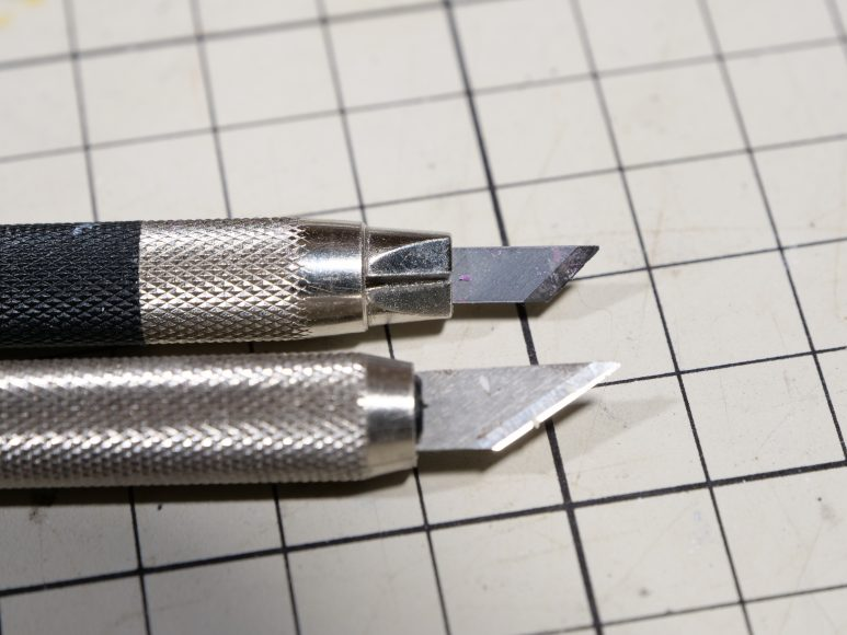初心者におすすめのスジボリ工具 デザインナイフ