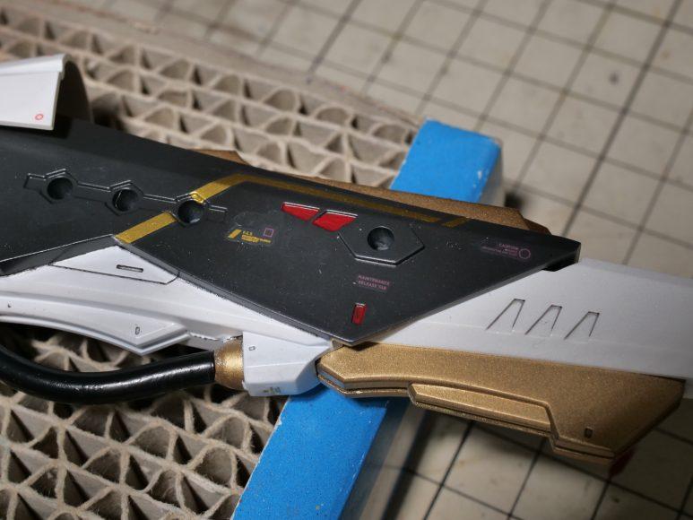 メガミデバイス バレットナイツ ランサー 塗装と改造